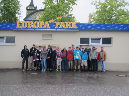 Firma Kraft Foods in Bludenz lud die Lehrlinge in den Europapark Rust ein.