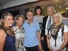 Franz Wilhelmer und seine Familie luden gestern zur Eröffnung des Teamsportgeschäftes.