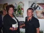 Gerty Lang und Johann Gröbitschitzer beeindruckten mit ihrer aktuellen Ausstellung.