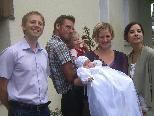 Getauft wurde Irina Suppan am 4. September in der Lorettokapelle