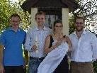 Getauft wurde Neele Peschl in der Lorettokapelle am 11. September