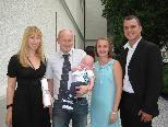 Hannes Reichle wurde getauft.