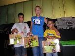 Javir, Rene und Alesandro gingen gemeinsam auf Museumstour