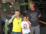 Jonas und Matthieu mit  Edmund Schnetzer
