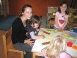 Kinderbetreuung: Irina Unterkofler im Kinderhaus Altach
