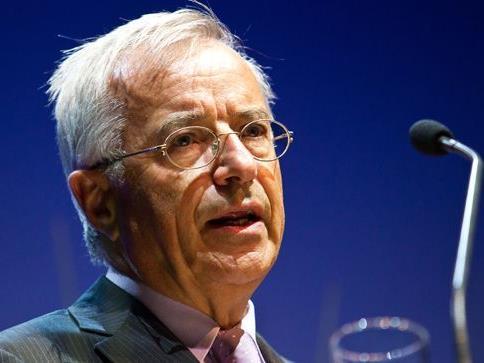 LH Sausgruber würdigte den Russ-Preis-Träger in seiner Rede.
