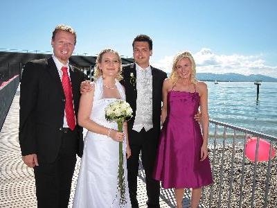 Martina Loser und Mario Falch haben geheiratet.