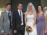 Martina Smirmaul und Matthias Scheffknecht haben geheiratet
