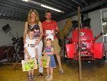 Max und Klara aus Feldkirch besuchten mit ihren Eltern das Feuerwehrmuseum