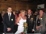 Michaela Amhofer und Reinhard Humpl heirateten.