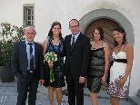 Mirjam Loacker und Jürgen Bickel heirateten.