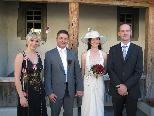 Monika Bischof und Markus Weiss heirateten.