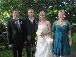 Monika Isele und Rainer Fitz haben geheiratet
