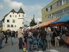 Neben Kunsthandwerk stehen beim traditionellen Jonas Markt viele andere Attraktionen auf dem Programm