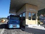 Noch werden im neuen Abfertigungspavillon nur Ausfuhren Nach Liechtenstein/Schweiz Abgefertigt