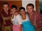 Peter, Simone, Claudia und Matze
