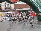 Pro Cycle Fahrer Manne Reis zeigte sich von Beginn an ganz vorne und holte sich den Sieg.