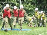 Rund 40 Jugendfeuerwehrler aus Dornbirn, Lustenau und Hohenems treffen sich zur 2. Bezirksübung.