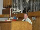 Seit 26 Jahren spielt ist Martina Hummer die Organistin in Vandans.