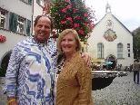 So oft wie möglich ist Florian Peter Lampert mit seiner Frau Sandy in Feldkirch zu Besuch, wie auch kürzlich.