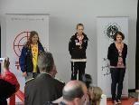 Tamara Rusch (3. v. links) holte in Innsbruck 3 Medaillen