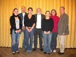 Vorstand: v.l. Cornelia Matt, Klaus Pfeifer, Birgit Nasheim, Joe Morscher, Nicole Bettega, Stephanie Köb, Herbert Gohm