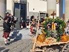 Zur Eröffnung des Dornbirner Herbst gab es schottische Klänge am Marktplatz.