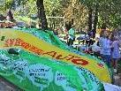 ein tolles Fest im Zeichen der Klimaschonenden Mobilität gab es im Gemeindepark