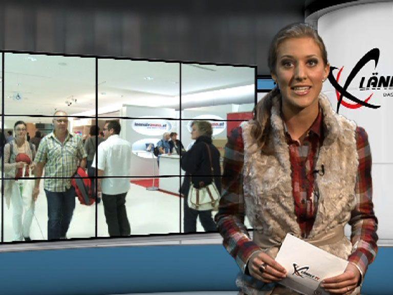 Bianca Oberscheider führt durch die Ländle TV Sendung