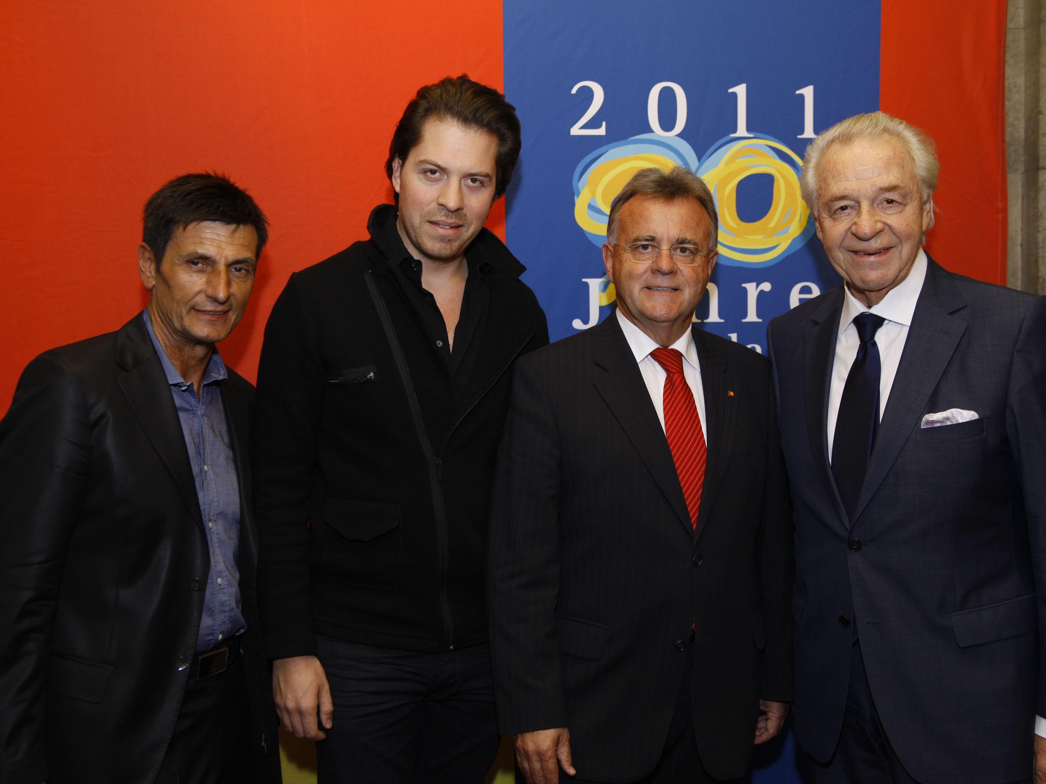 I Love Burgenland - Wir Burgenländer in Wien. Mit dabei: Illedit, Serafin, Niessl, Serafin