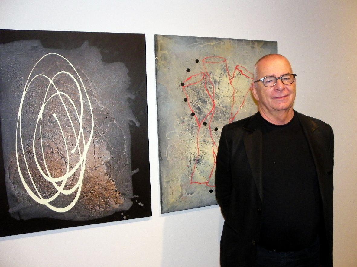 Schweizer Künstler Albert Merz