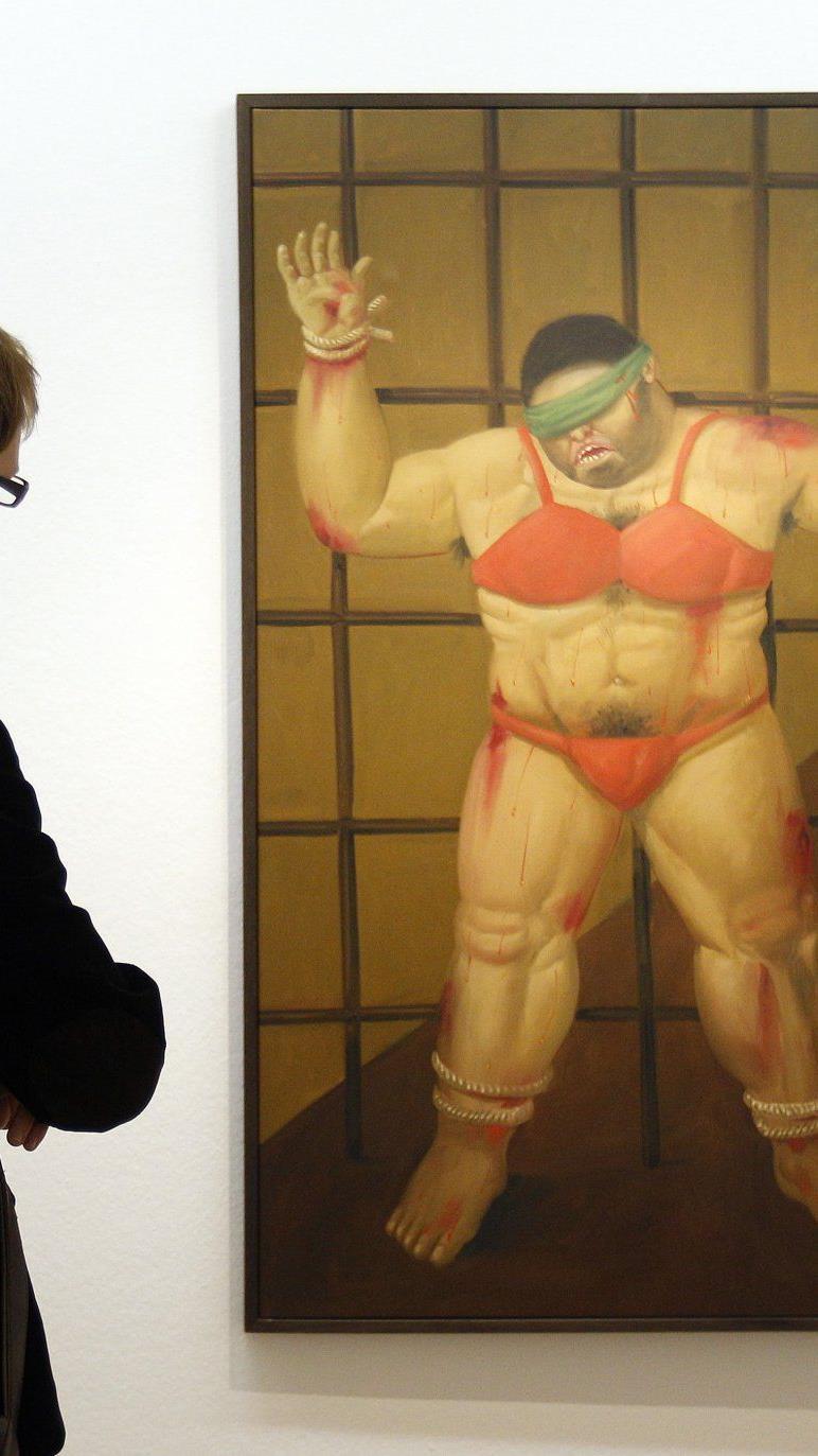 Botero im Wiener Kunstforum
