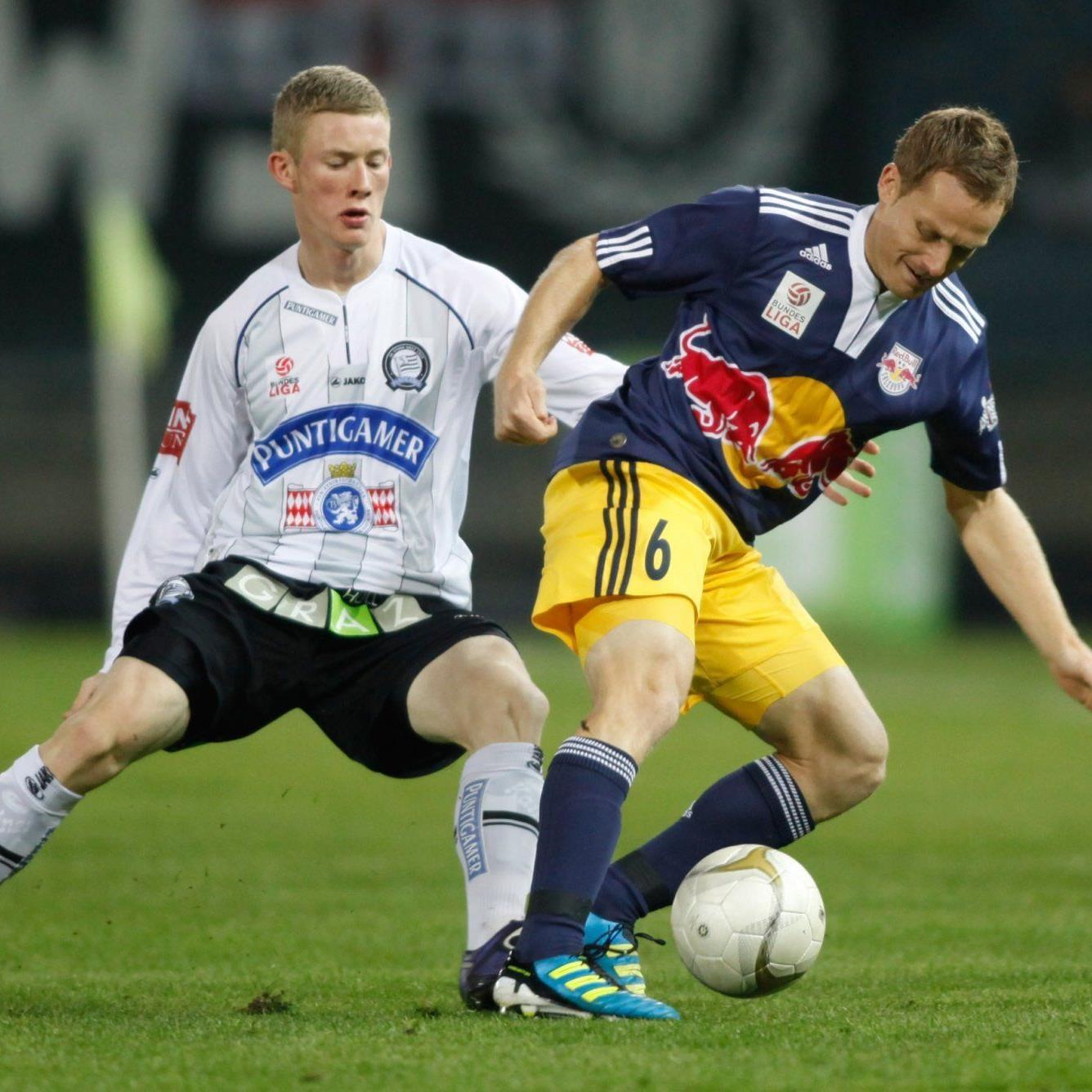 Die Bullen waren bei Sturm Graz chancenlos.
