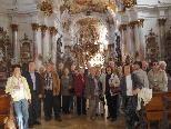 Bewunderung für die barocke Abteikirche Zwiefalten
