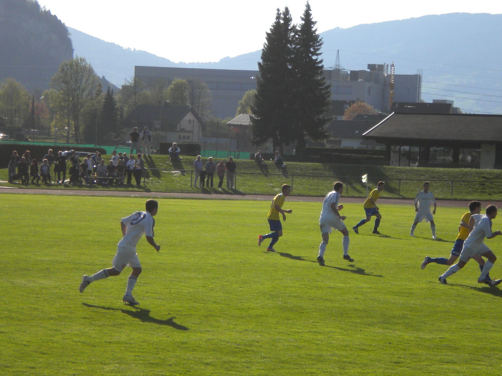 Das Kellerderby in der Landesliga gewann Schruns