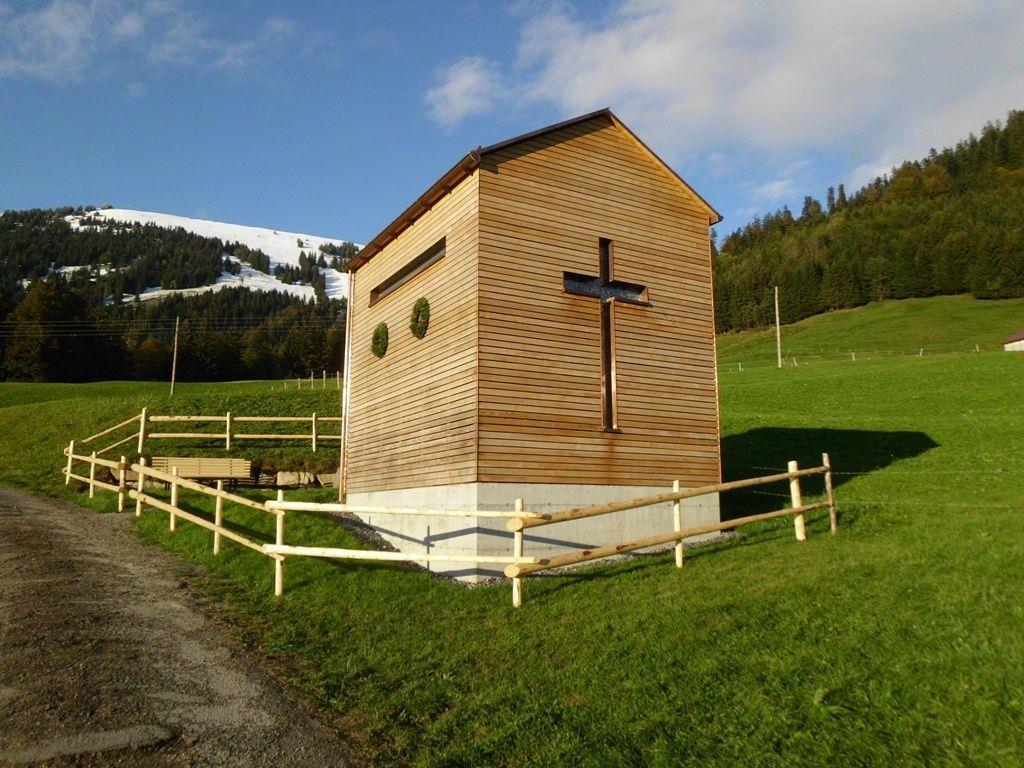 Symbolbild: Neue Kapelle auf Fegg bei Bezau