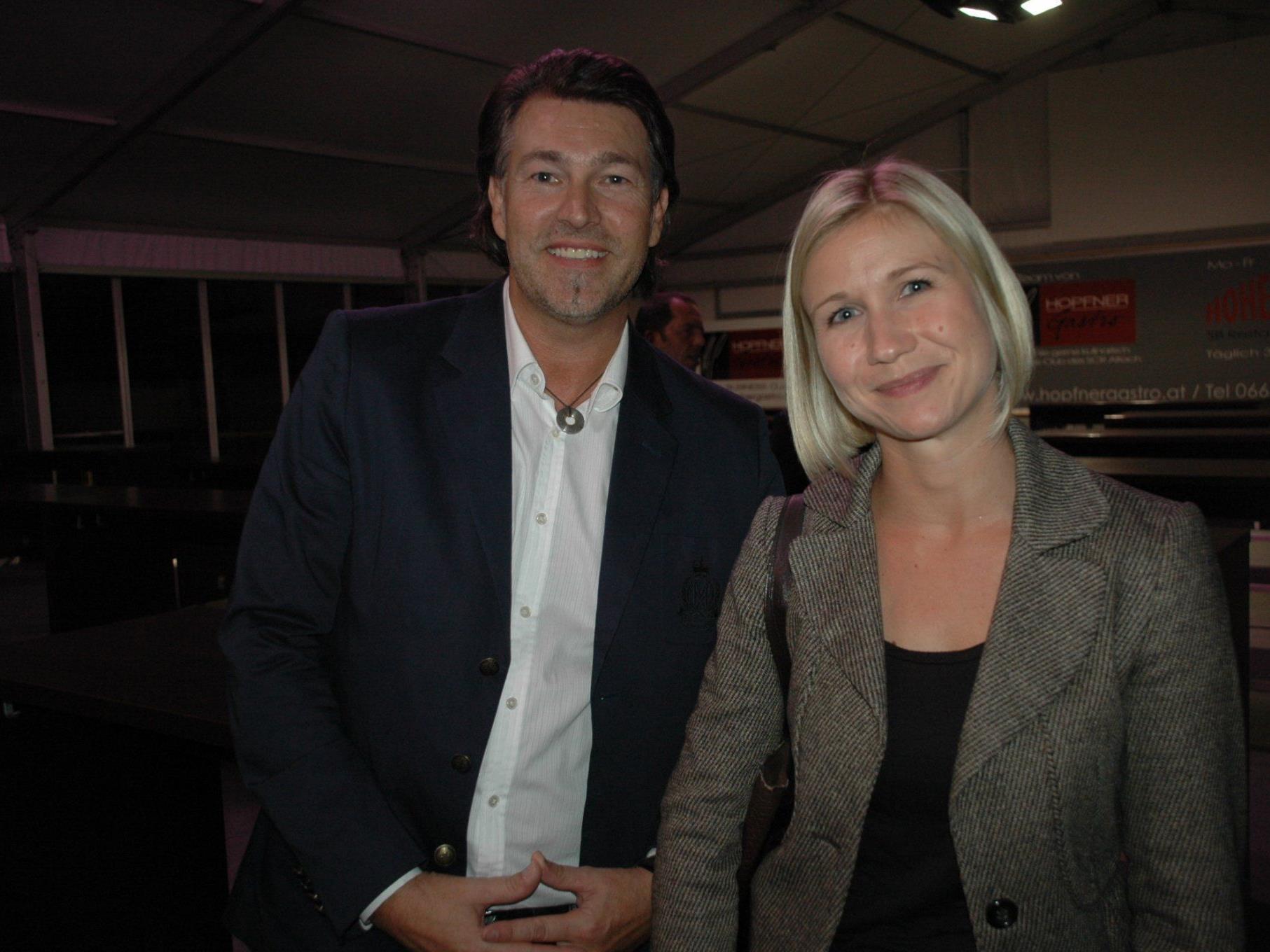 """Günther Plaickner & Stefanie Kopf waren auch beim ersten Treffen der """"Wirtschaft amKumma"""""""