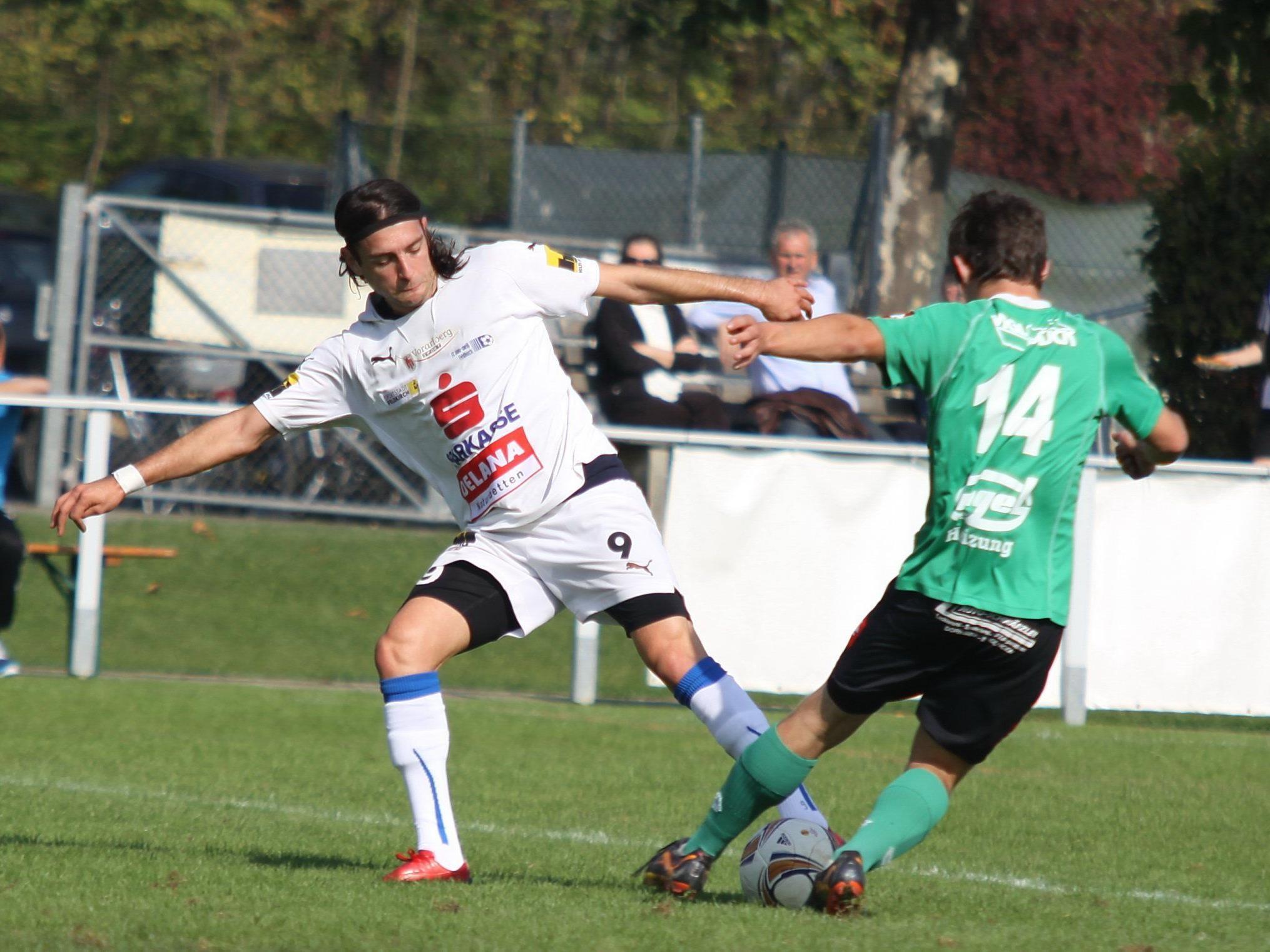 Burhan Yilmaz will für Feldkirch noch viele Tore schießen.