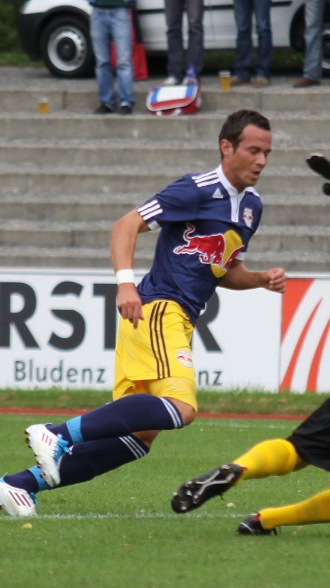 Lukas Katnik spielt beim Meister Salzburg Amateure im Sturm.