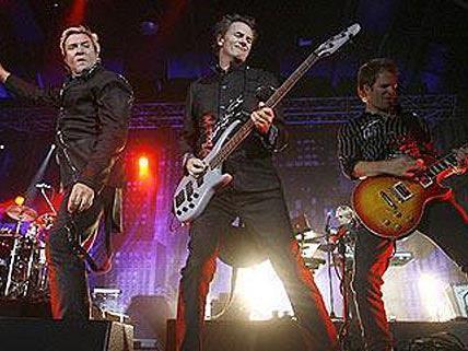 Duran Duran beim Auftritt im Wiener Gasometer 2008
