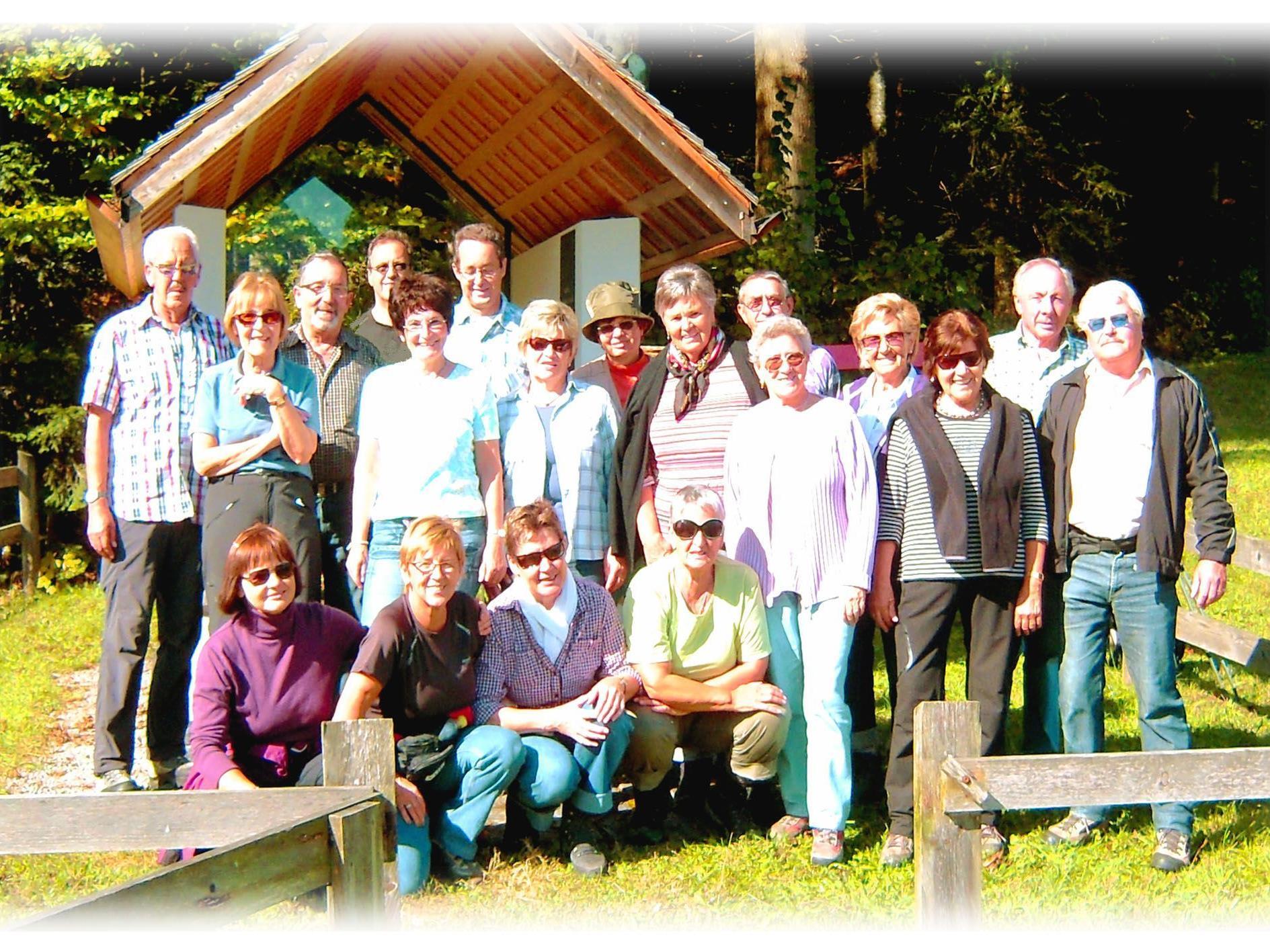 Die Wandergruppe aus Bregenz