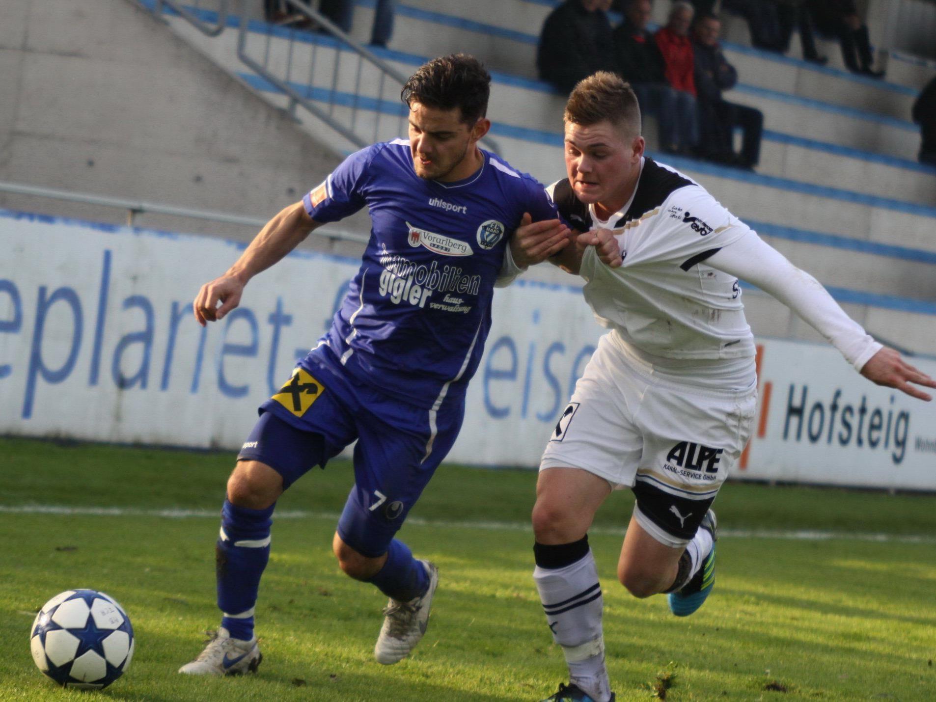 FC Hard verlor gegen Wattens mit 0:4.