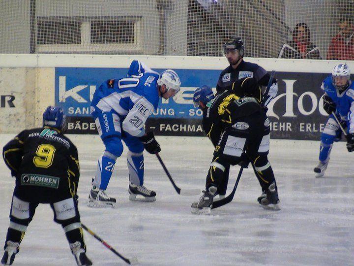 Heisses Hockey in Hohenems