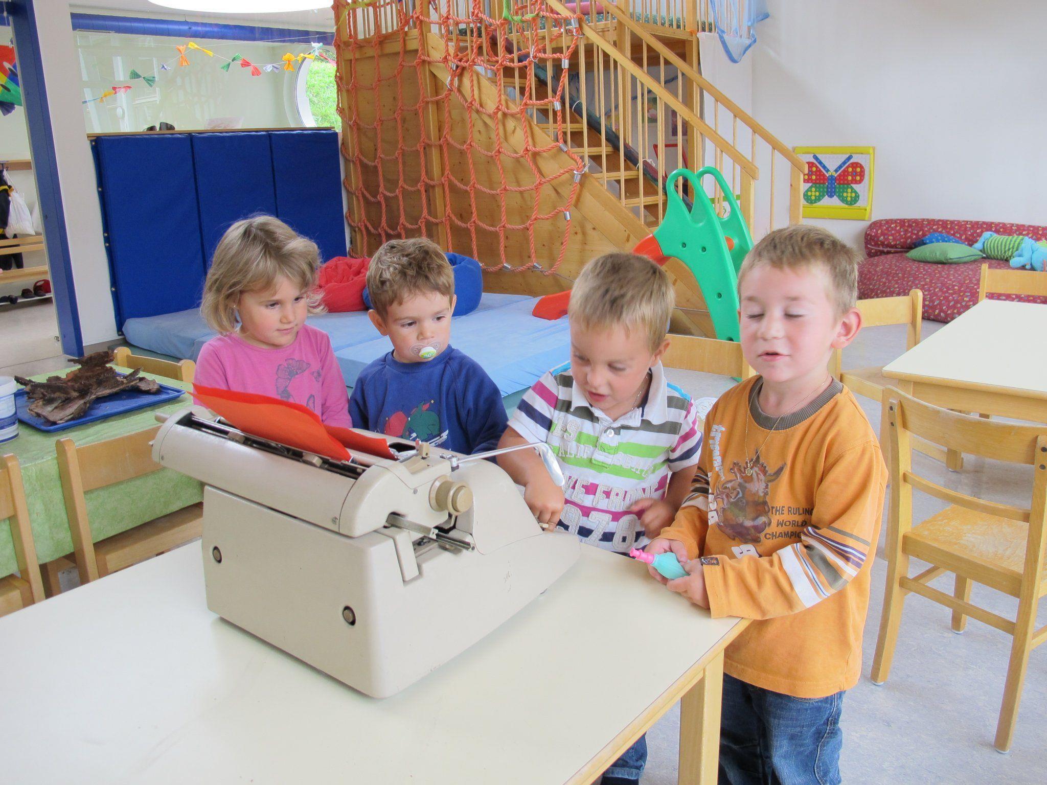 In der Kindergruppe Schnäggahüsle haben die Kinder viel Spaß.