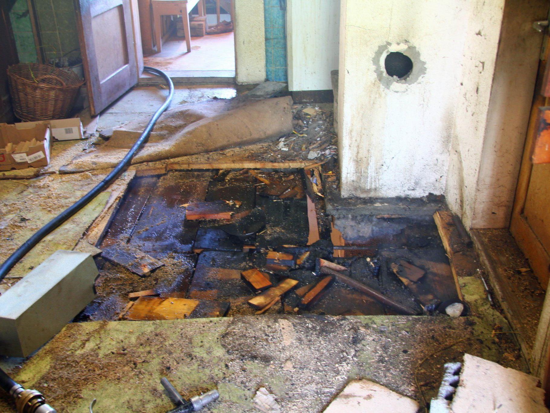 Müselbach: Glimmbrand in Wohnhaus