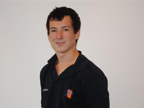 Miguel Maier aus Lauterach absolviert bei der Karossiere Akademie seine Lehre.
