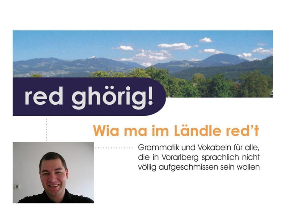 """""""Vorarlbergerisch für Einsteiger"""" mit Kursleiter Emanuel Lampert."""