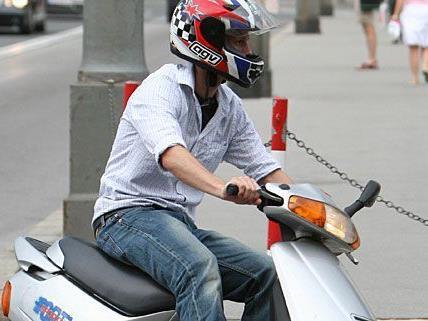 Der 16-jährige Grapscher machte mit dem Moped die Wiener Neustädter Au unsicher