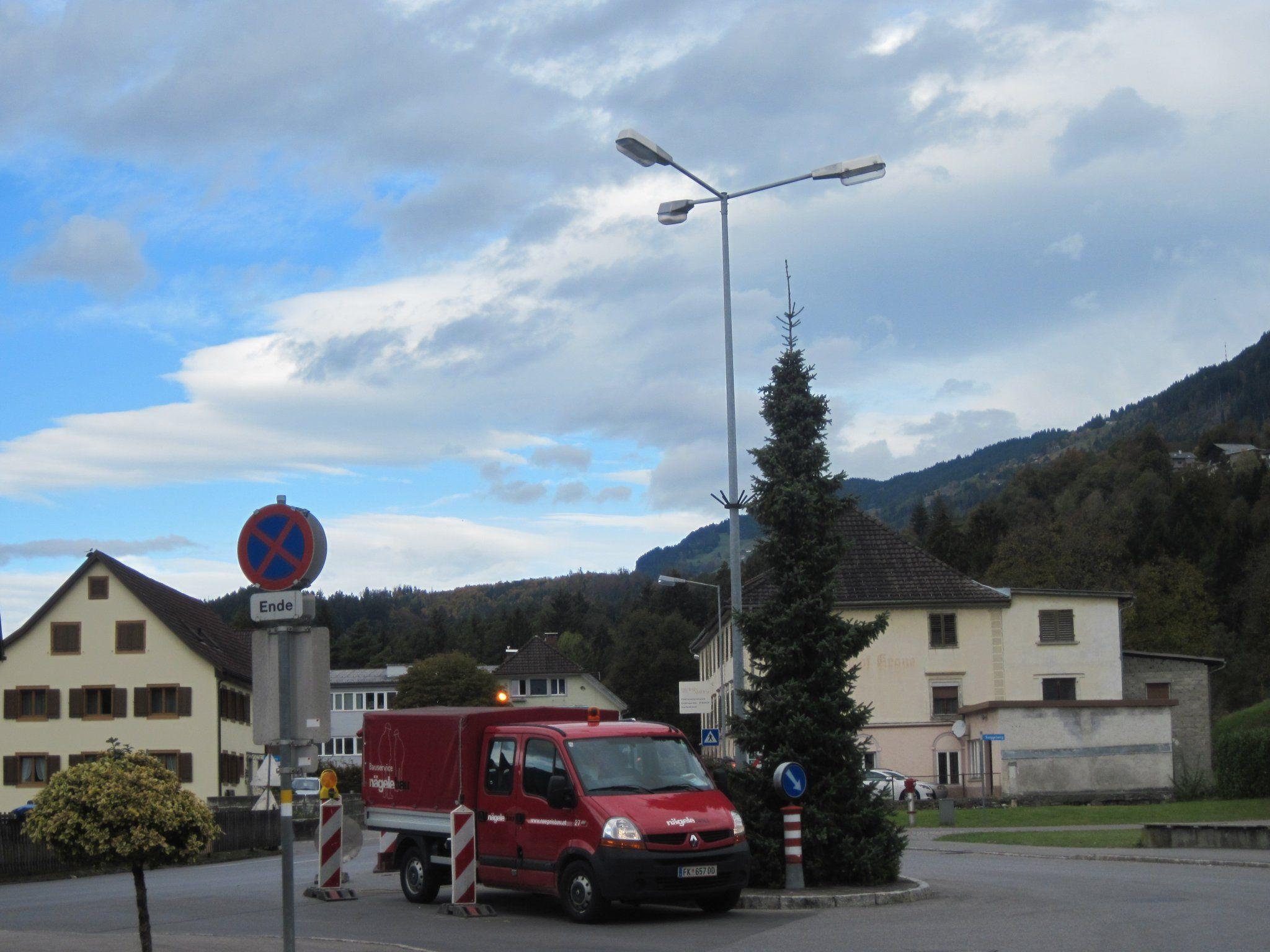Neue effiziente Leucht nlage in Ludesch