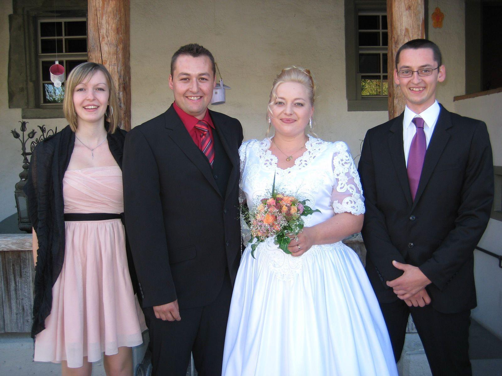 Eva-Maria Oberhauser und Roman Ganahl haben geheiratet.
